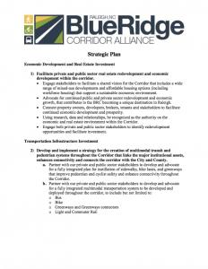 Strategic Plan | Blue Ridge Corridor Alliance - PDF